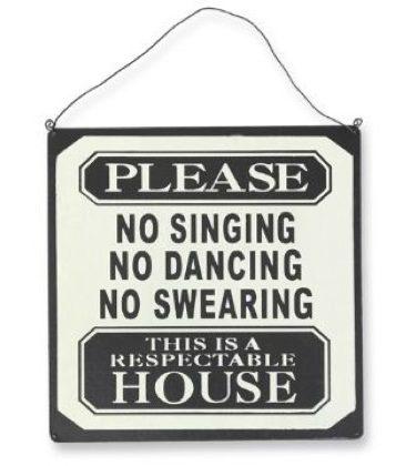 SIGNNOSINGING