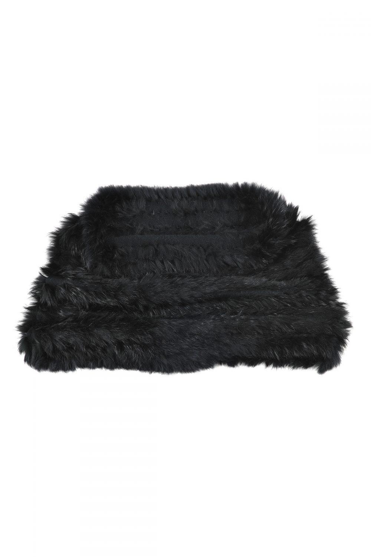 Black Fur Snood Laurie Amp Jules