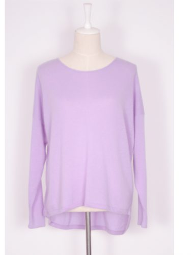 Ava Cashmere Sweater Lilac