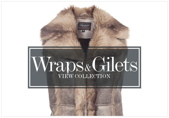 Womens Wraps and Gilets Collection