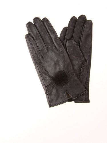 black-leather-gloves