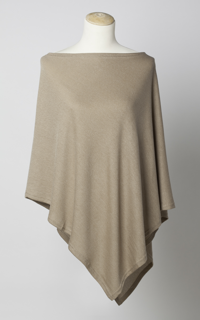 100 Cashmere Scarf >> Lightweight Poncho   Laurie & Jules