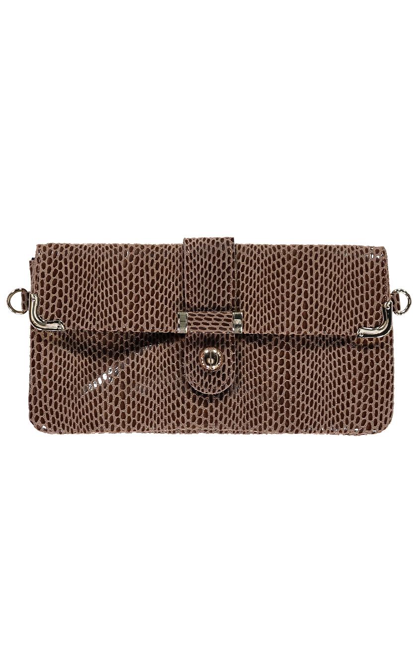 Brown Leather Handbag 2