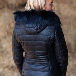 black leather back lifestyle