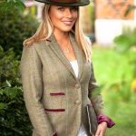 Amy Green Tweed Jacket.Lifestyle