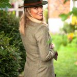 Amy Green Tweed Jacket.Lifestyle B