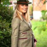 Amy Green Tweed Jacket.Lifestyle Sjpg