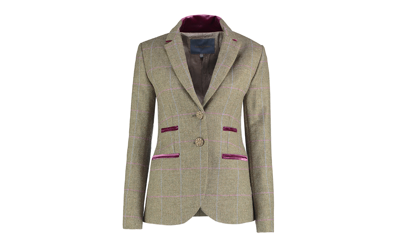 Amy Green Tweed Jacket