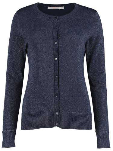 Blue Lurex Cardigan