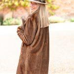 Brown Fur Coat.Lifestyle Bjpg