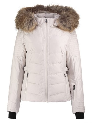 Cream Ski Jacket