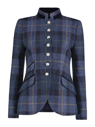 Lulu Blue Check Jacket