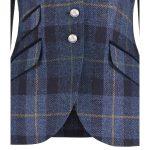 Lulu Blue Check Jacket.Detail