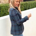 Lulu Blue Check Jacket.SSjpg