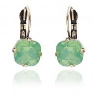 pacific opal crystal earrings