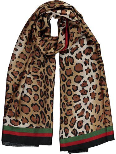 Leopard Silk Scarf jpg