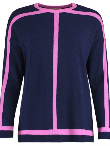 Navy & Pink Sweater.1jpg