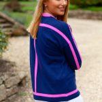 Navy & Pink Sweater.back jpg