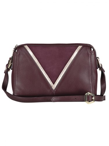 Burgundy Leather Handbag