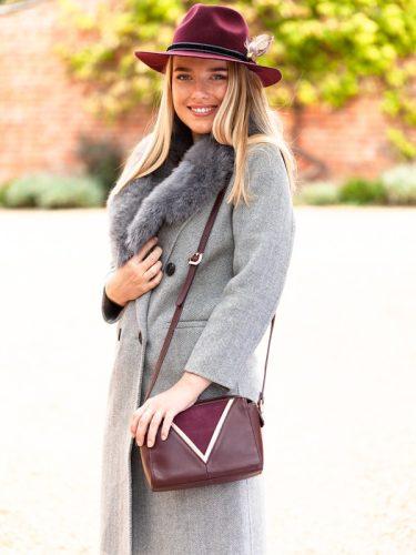 Grey Cashmere Coat F