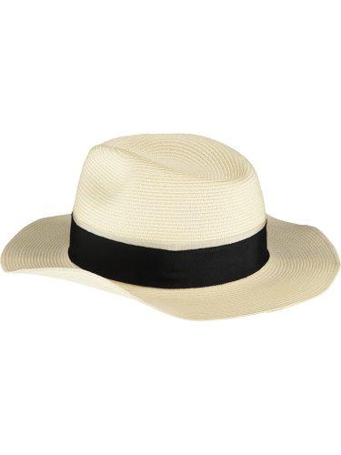 Cream Fedora Sun Hat