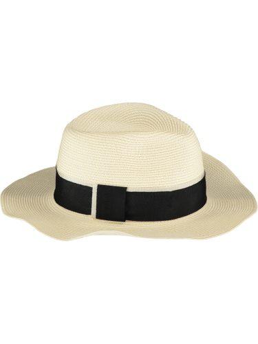 Cream Fedora Sun Hat1