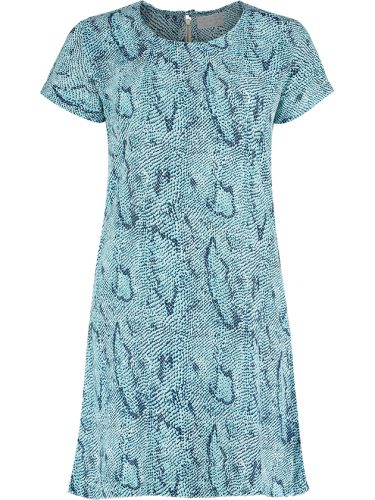 Blue Snake Dress St Front