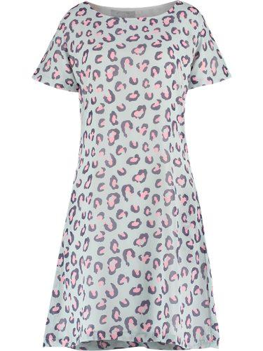 Lola Leopard Dress Front
