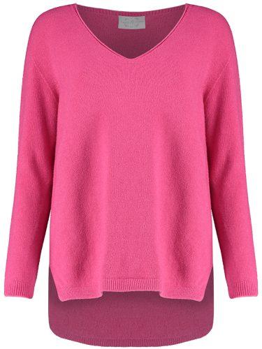Pink V Front