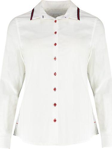 Pippa White Shirt Front