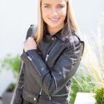 Khaki Leather Lifestyle close up
