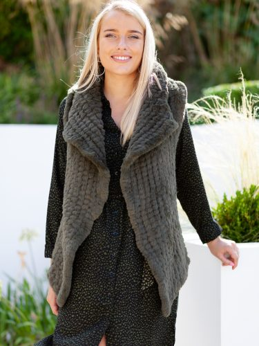 Green Gilet Front Lifestyle
