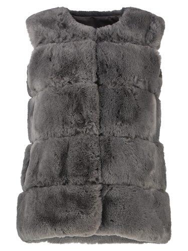 faux fur gilet front 2