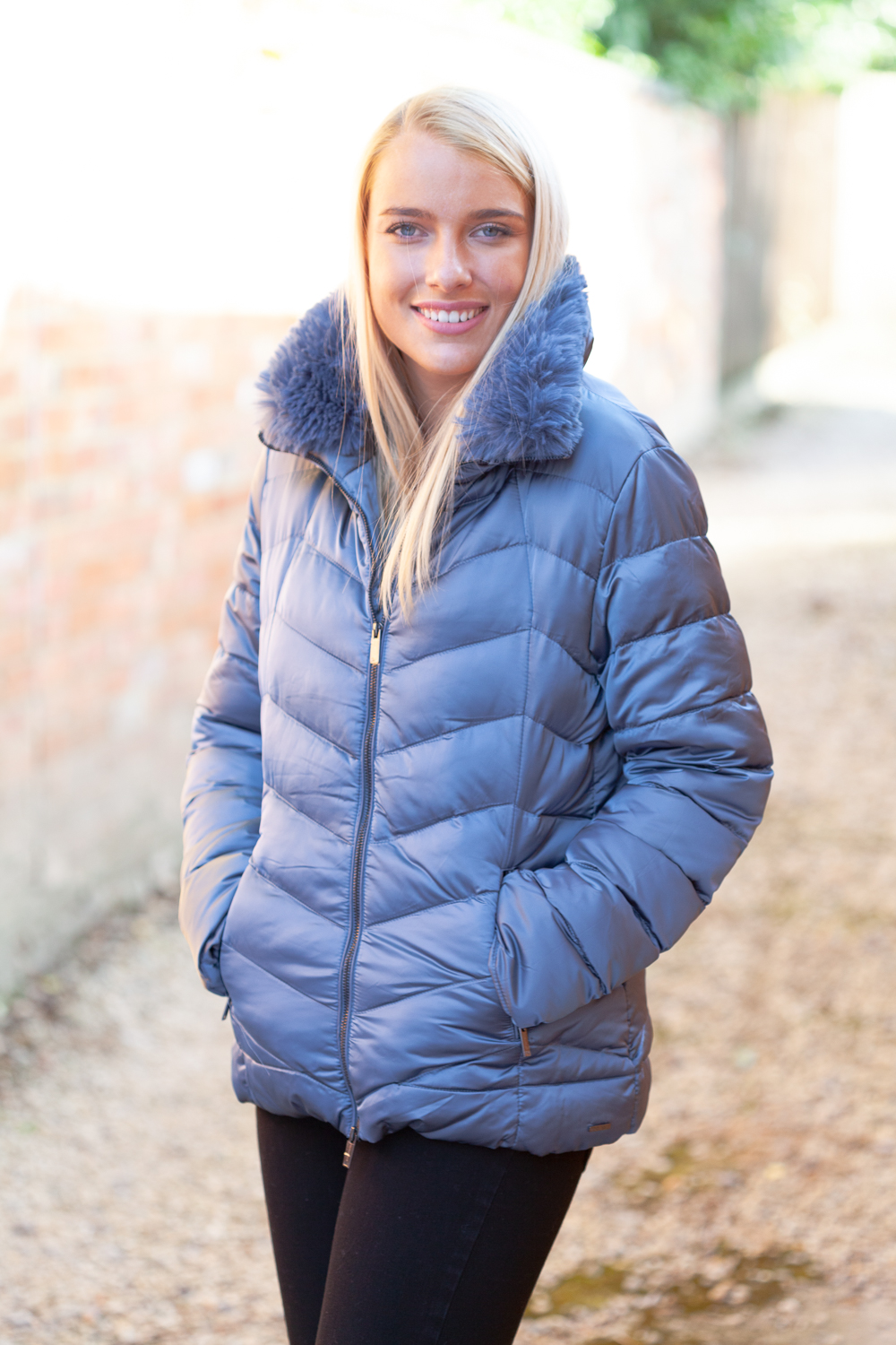Airforce Blue Parka Lifestyle 1