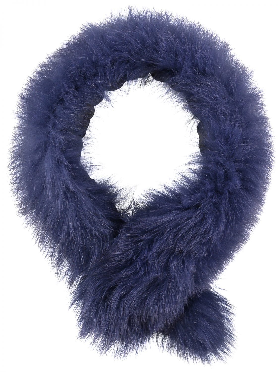 Blue Fur Collar Medium2