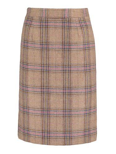 Rosie Check Skirt Knee