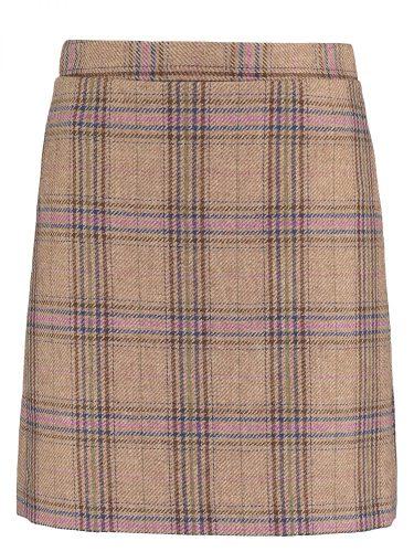 Rosie Check Skirt Short F