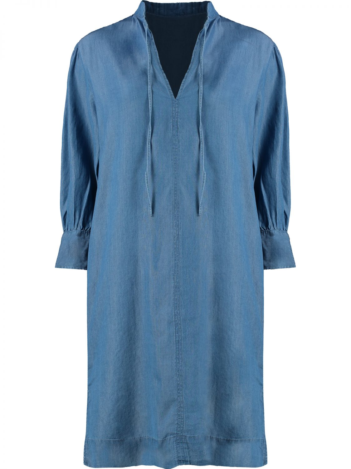 Blue Denim Dress Front 2