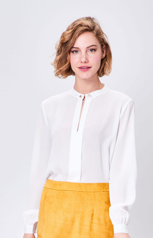 Cream Pearl Shirt