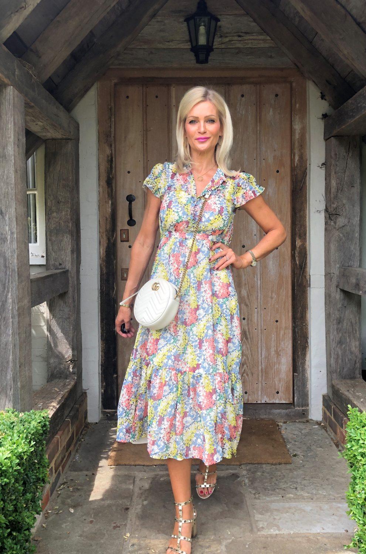 Sarah Floral Pastel Dress (2)