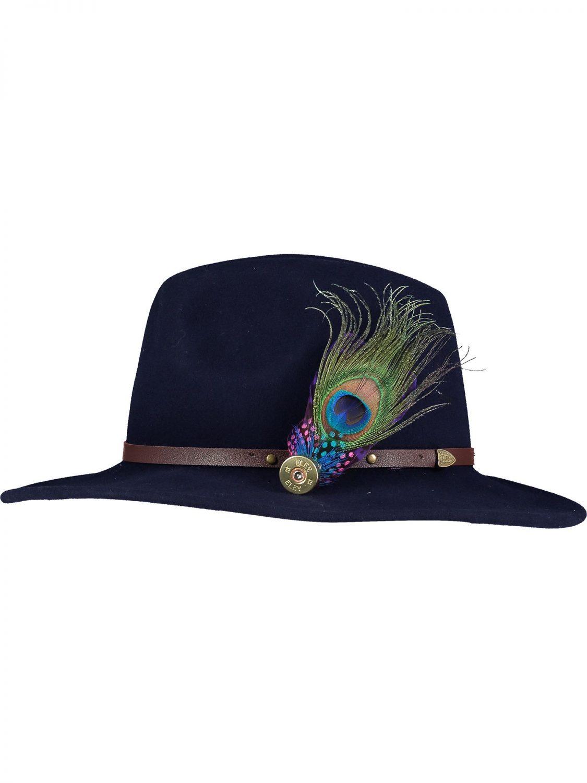 Medium Peacock Pin and Hat 1