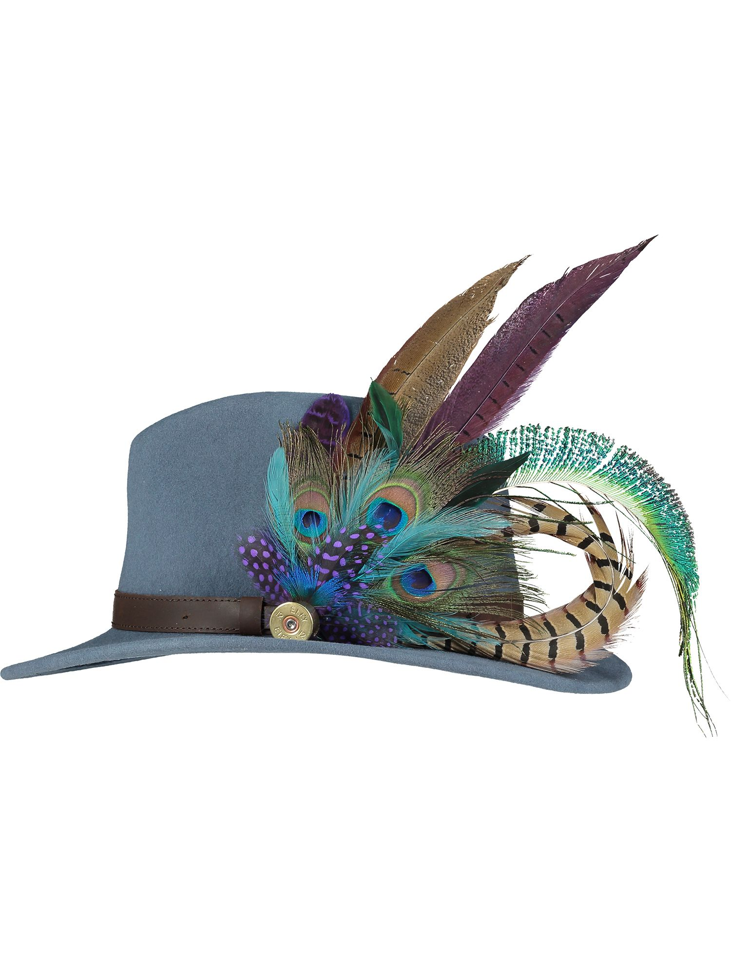 Deluxe Peacock Pin and Hat 1