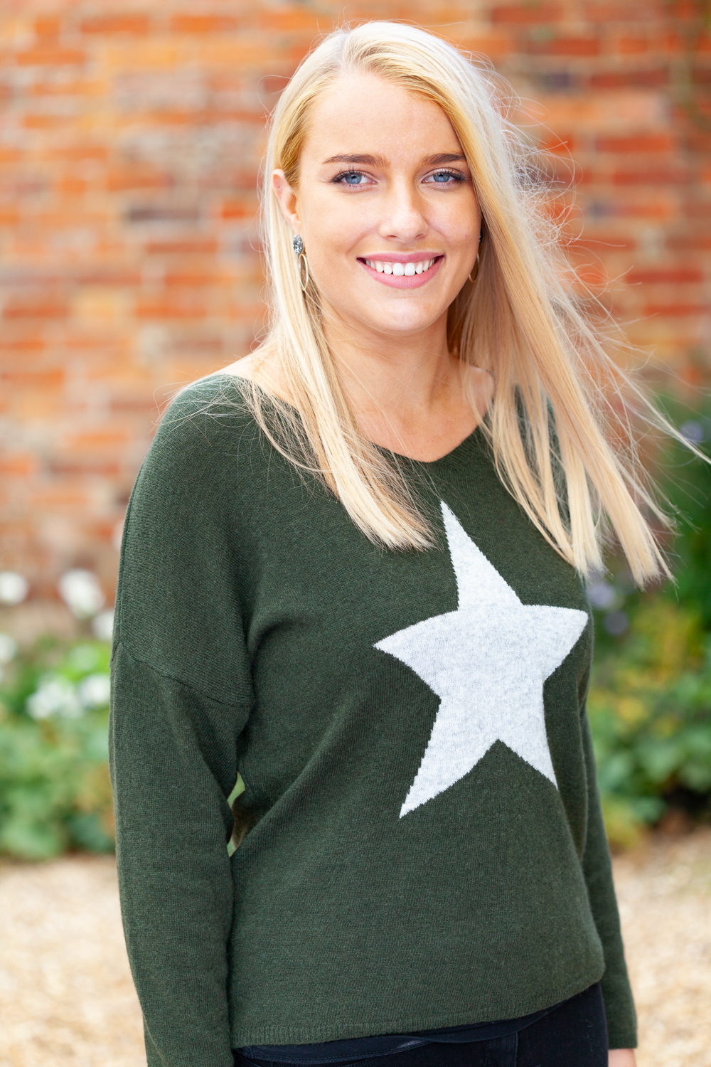 Khaki Star Sweater 2