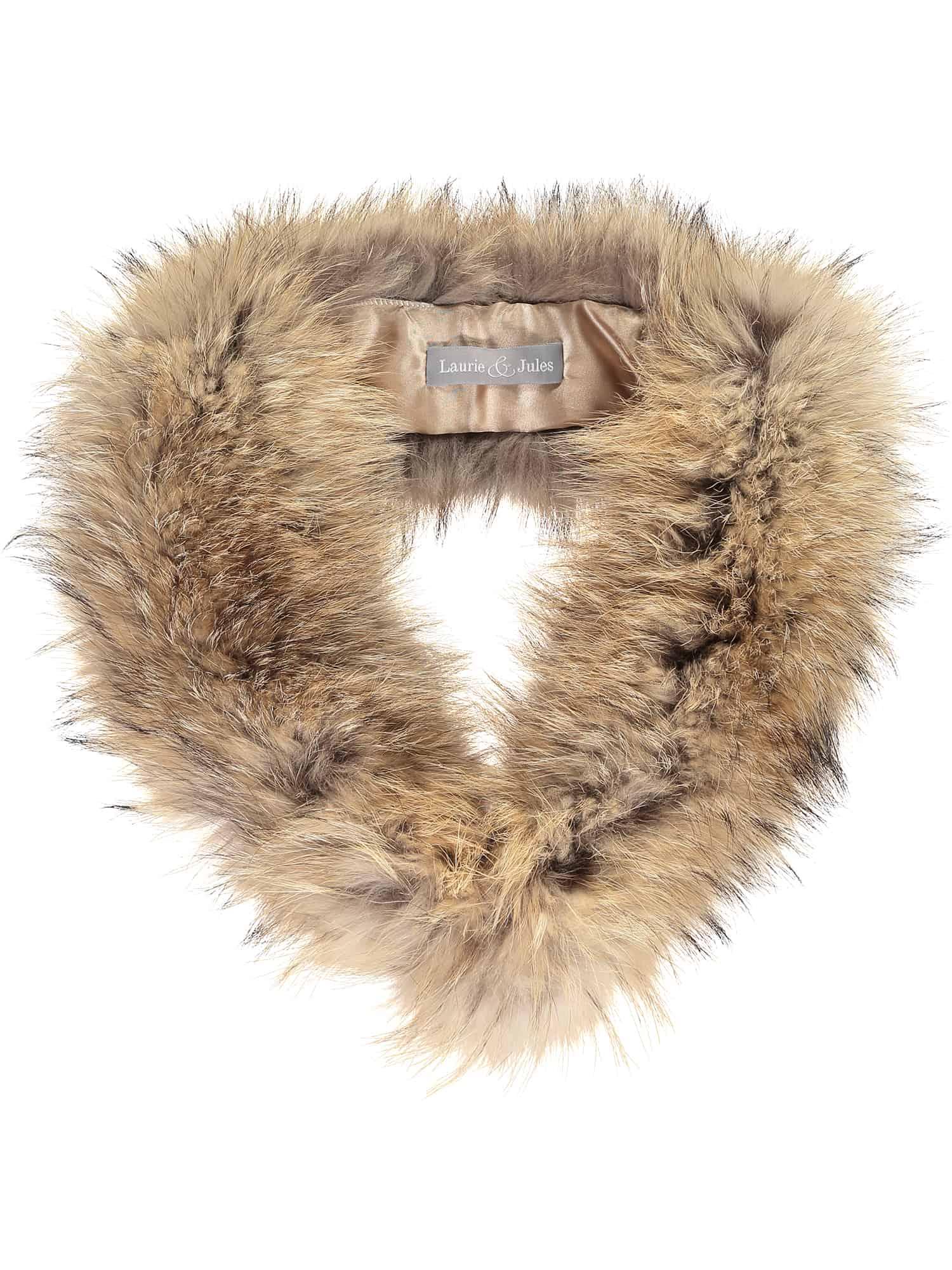Natural Fur Collar Large 3 re