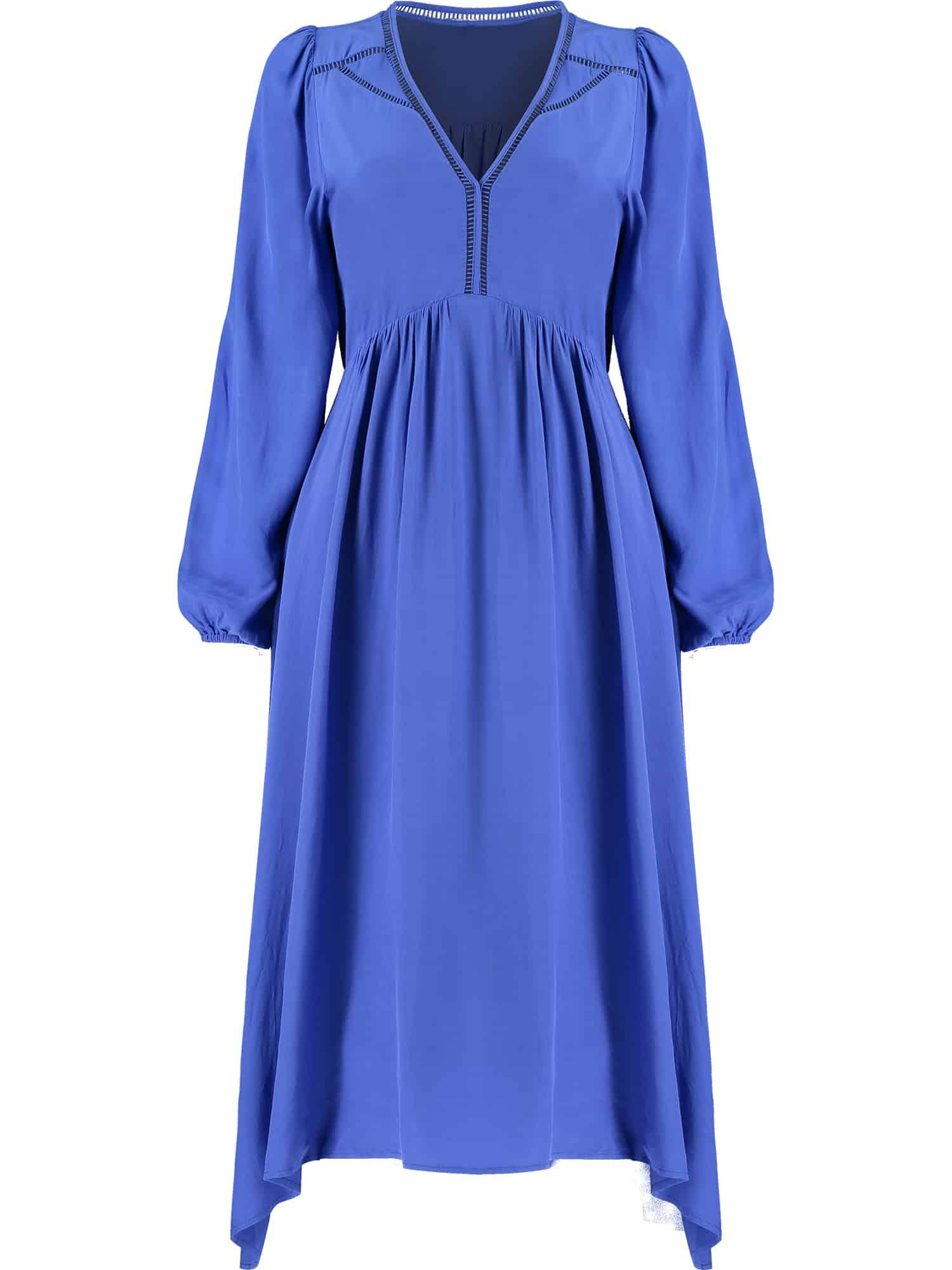 Blue Fluid Dress