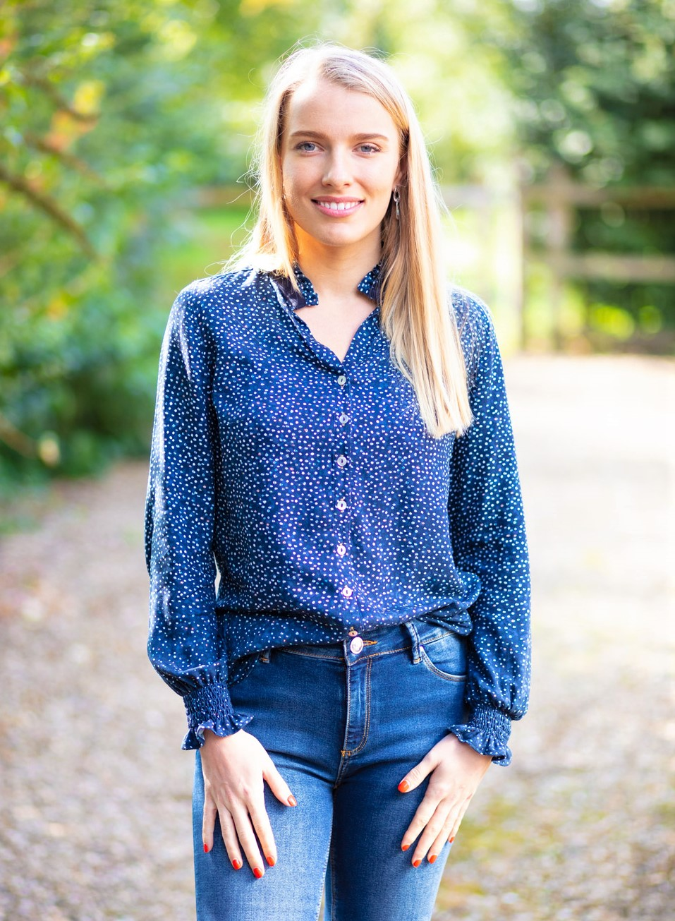 Holly Blue Blouse